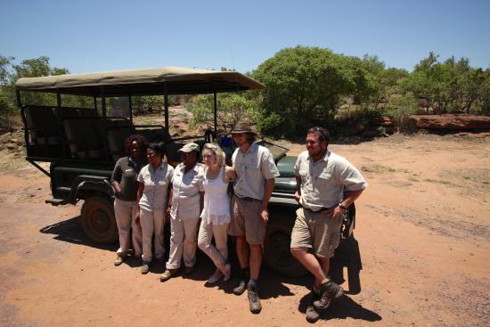 Welgevonden Game Reserve, جنوب أفريقيا: The Nedile Team