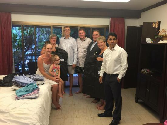 Kamala, Tailandia: With Åland customers