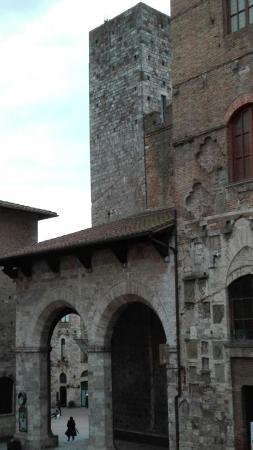 Palazzo Pubblico e Torre Grossa: Detail