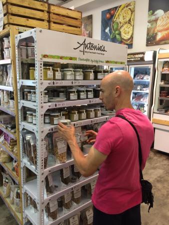 Bryanston, África do Sul: Vegan shelf