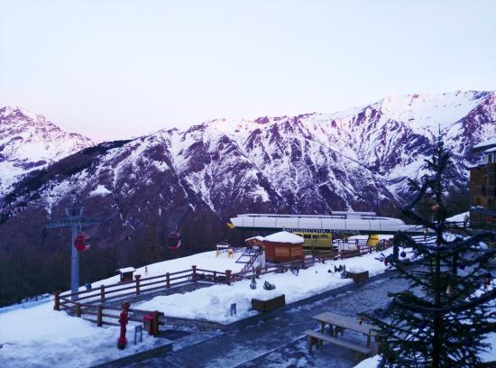 Bardonecchia, Włochy: vista dal balcone della camera