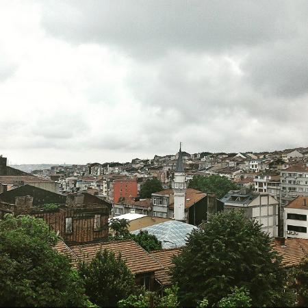 Harbiye Residence: вид из окна
