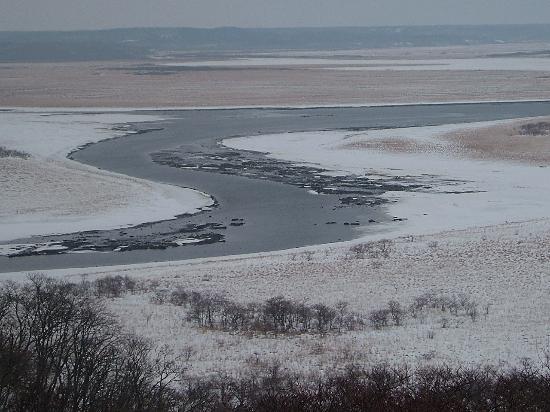 Hamanaka-cho, Japan: 冬の霧多布湿原