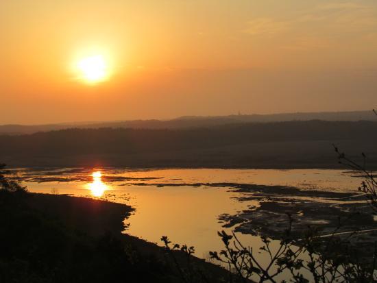 Hamanaka-cho, Japan: 霧多布湿原の夕日