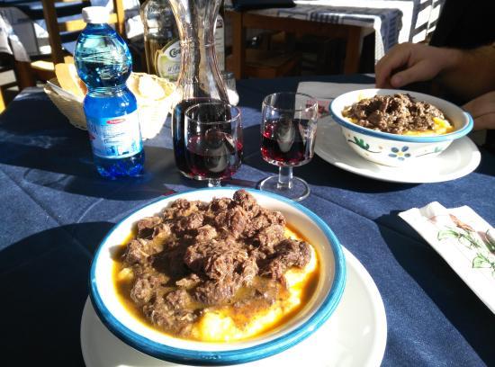 Bardonecchia, Włochy: un chilo a testa di polenta e cinghiale