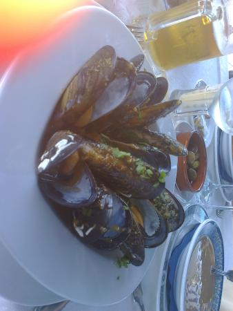 Aguimes, Espagne : Ten big mussels were in mouth melting