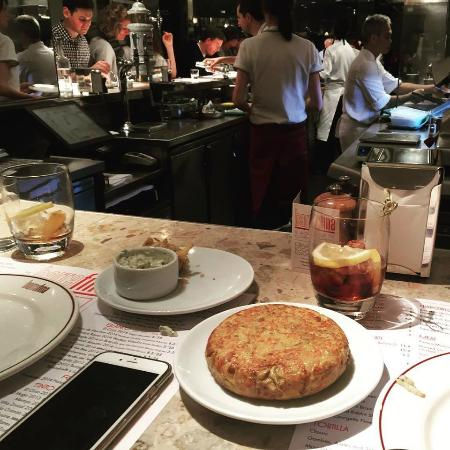 Barrafina: View from our seat