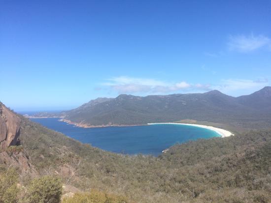 Coles Bay, Australia: Wineglass Bay Lookout