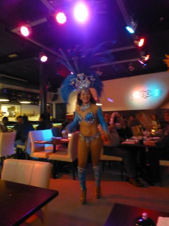 Spijkenisse, Países Baixos: Een van de danseressen