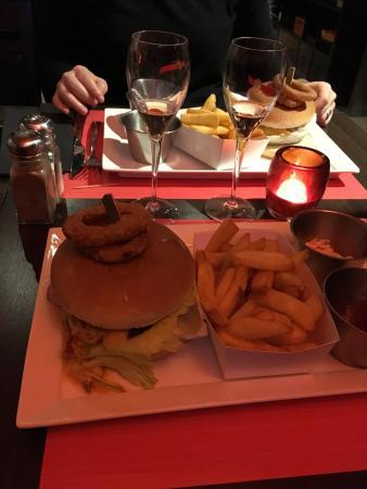 Nivelles, Bélgica: Hamburger