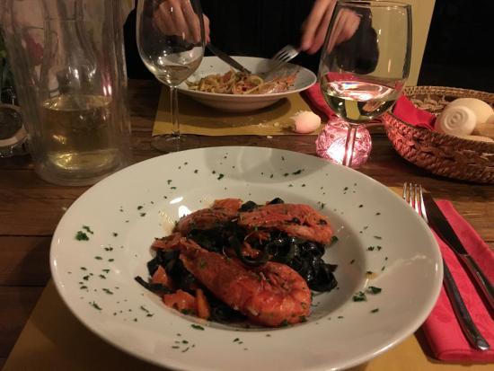 Linguine al nero di seppia foto di alma mora caff e cucina verona tripadvisor - E cucina verona ...