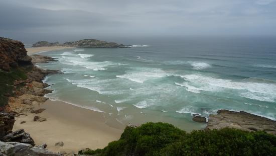 Plettenberg Bay, Sudáfrica: plages et rochers...