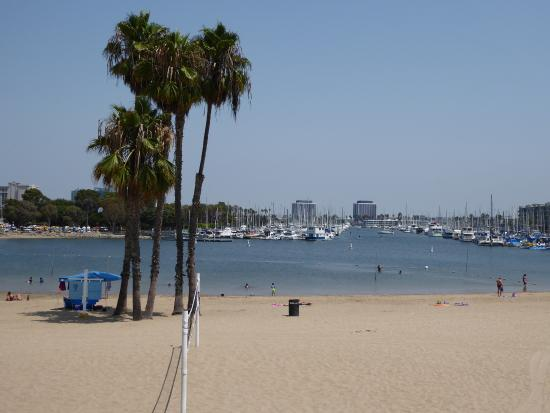 Marina del Rey, CA: glorious view from room!