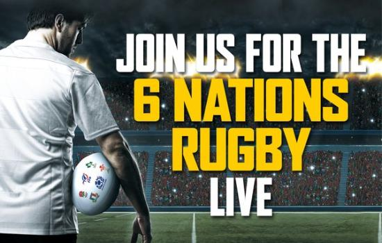 Berkhamsted, UK: Join us for 6 Nations Rugby Live