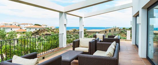 Hotel Sol Ixent: Terraza superior