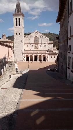 Duomo Spoleto : Duomo di Spoleto.
