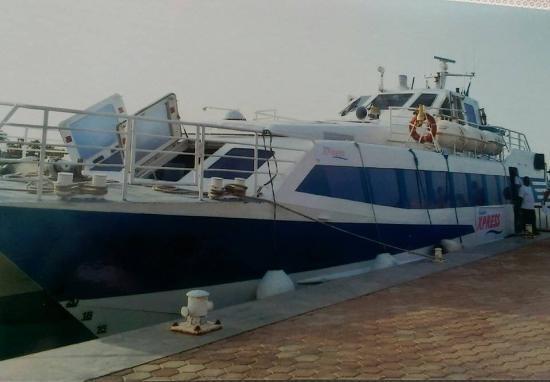 El Wekala Golf Resort: Boat