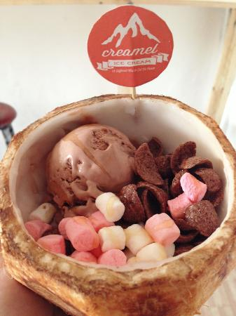 creamel ice cream surabaya restaurant reviews photos phone rh tripadvisor com