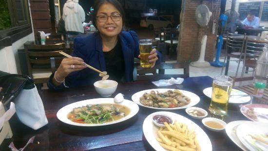 Loei, Tajlandia: Lovely food......