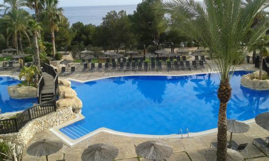 Hotel SH Villa Gadea: La foto esta hecha desde el balcon de la habitación, tiene unas vistas maravillosas.