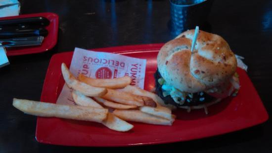 Mooresville, NC: Blue Ribbon Burger