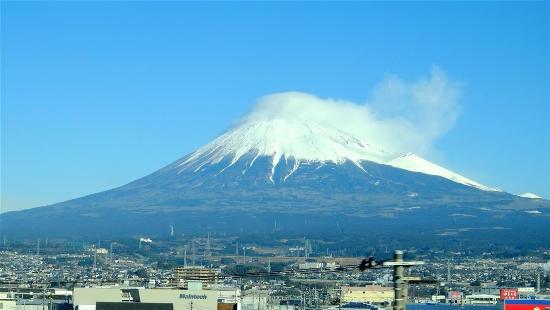Mt Fuji from the Shinkansen