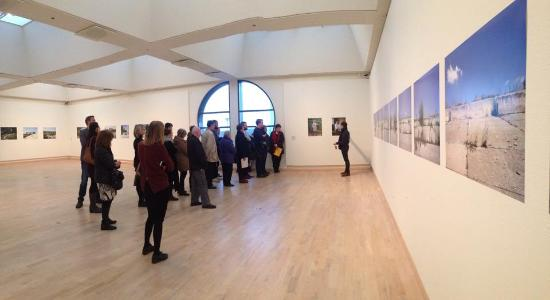 Kopavogur, İzlanda: Artist's talk