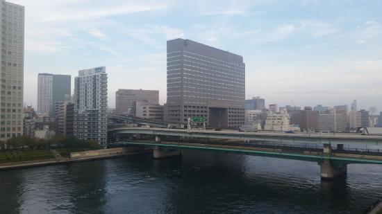 Kurumi Mansion: View of Sumida River from room