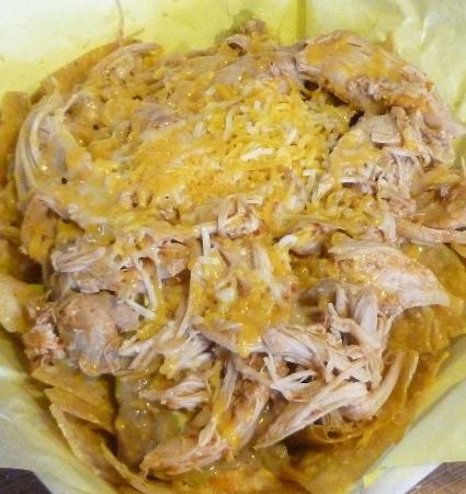 Cheney, WA: Nachos Con Pollo...