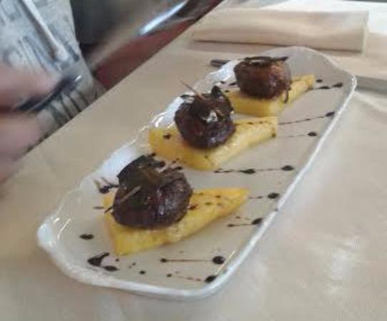 """Castiglione Dei Pepoli, Italien: piatto """" Taverna Del Cacciatore """""""