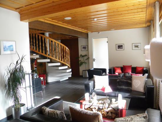 Grimentz, Ελβετία: Hall de l'hôtel