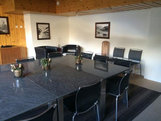 Grimentz, Ελβετία: Salle de réunion
