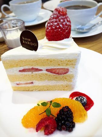 Musashino, Japón: Strawberry shortcake from Baum Kichijoji