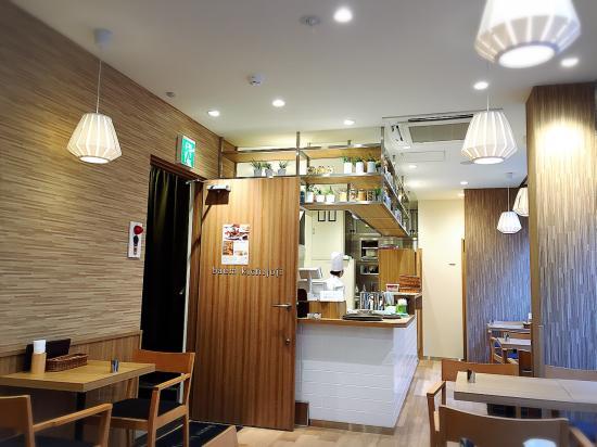 Musashino, Japón: 2nd floor cafe of Baum Kichijoji