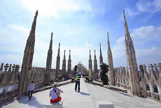 Le terrazze del Duomo di Milano - Foto di Terrazze del Duomo, Milano ...
