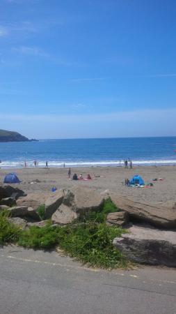 Bigbury-on-Sea, UK: beach at challabrough bay