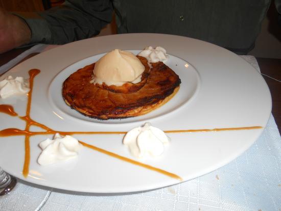 Saint-Avit-Senieur, Francia: tartelette aux pommes