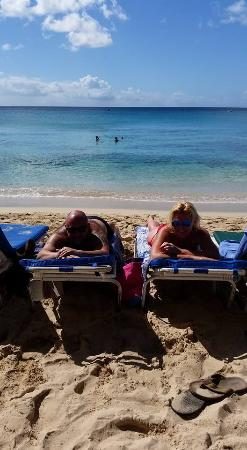 Holetown, Barbados: The guys on the beach will sort you out with beds $15bbds