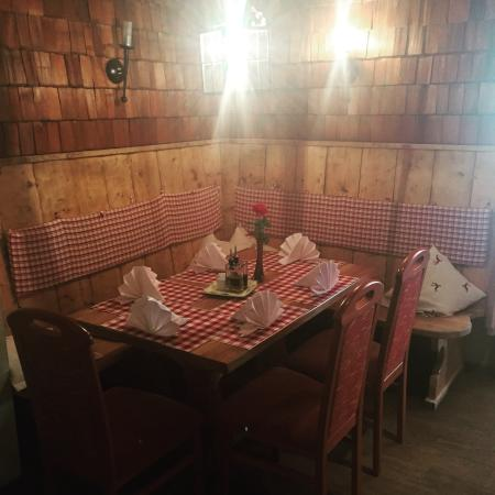 Rauris, Østrig: Stadl.cafe-restaurant