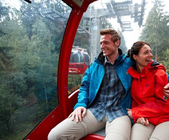 Relexa Hotel Harz-Wald: Wurmbergseilbahn direkt vor der Tür