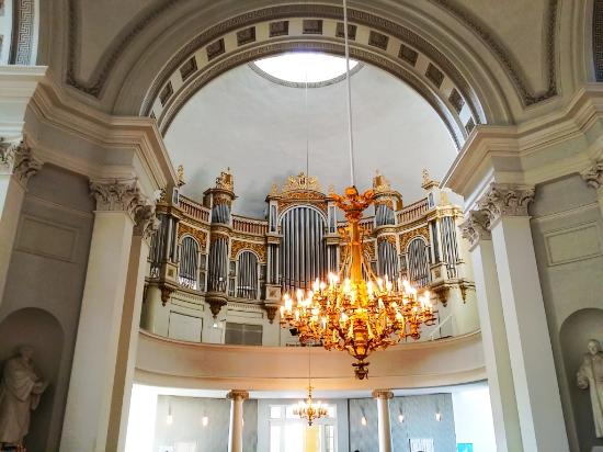 Catedral Luterana: The only splendid thing in the church is the pipe organ