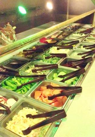 Hurley, WI: Salad Bar