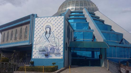 Itajuba, MG: Santuário Nossa Senhora da Agonia