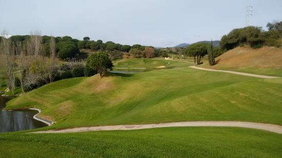 Cabopino Golf Marbella: 15 th cabopino great hole.