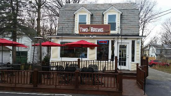 Bennington, VT: Two Brews Cafe