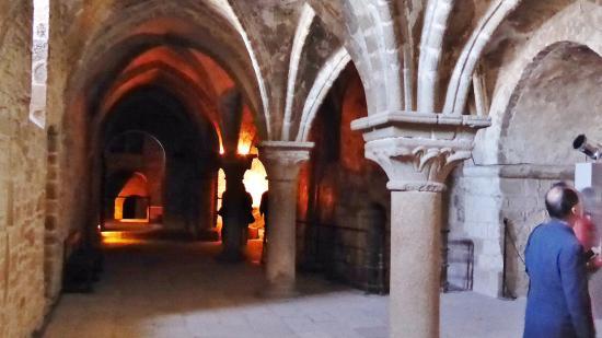 Mont Saint Michel Manastırı: 修道僧の遊歩道