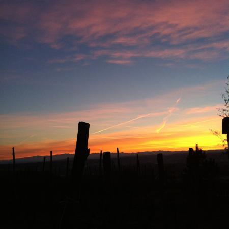 Rocca Grimalda, Italië: tramonto