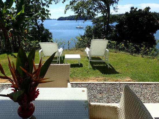 Boca Chica, Panama: View from our bed