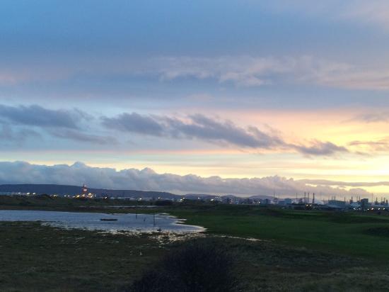 Hartlepool, UK: Teeside at twilight