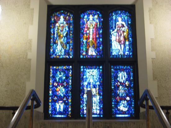 Scottish Rite Cathedral: Stained Glass